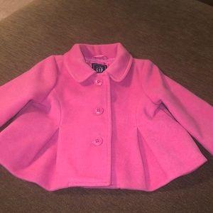 ✨LIKE NEW✨ Baby Gap Pink Pea-coat.